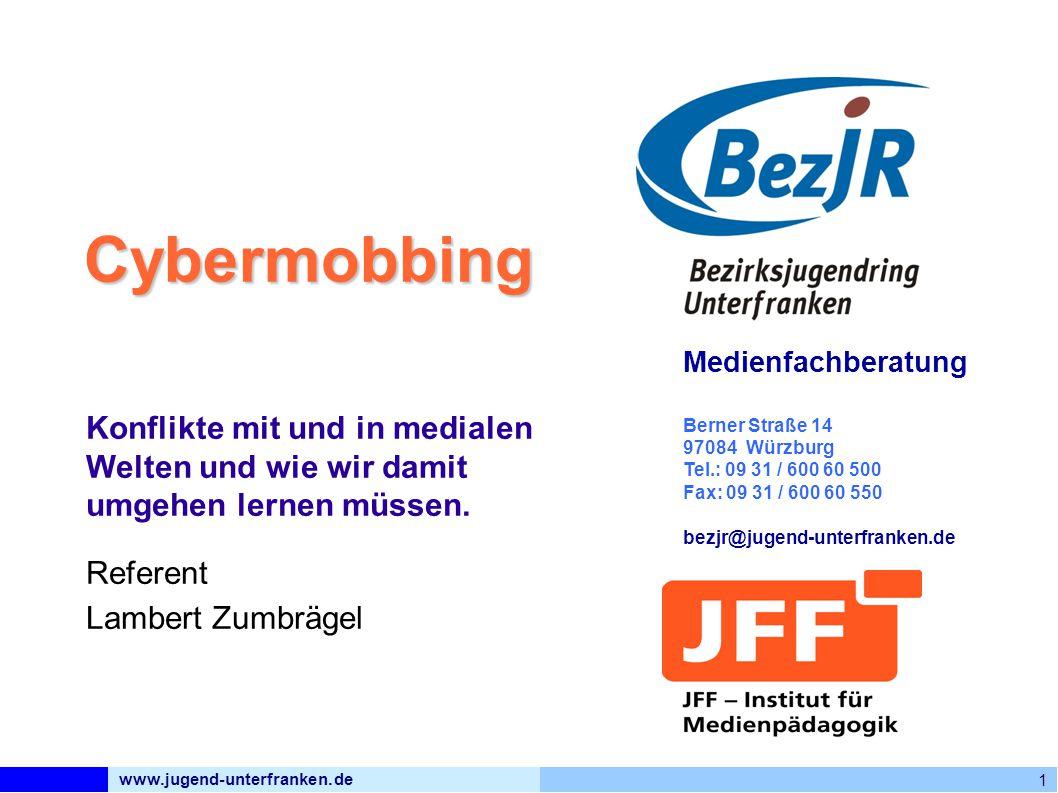 www.jugend-unterfranken.de Bezirksjugendring Unterfranken Medienfachberatung Was kann Schule tun.