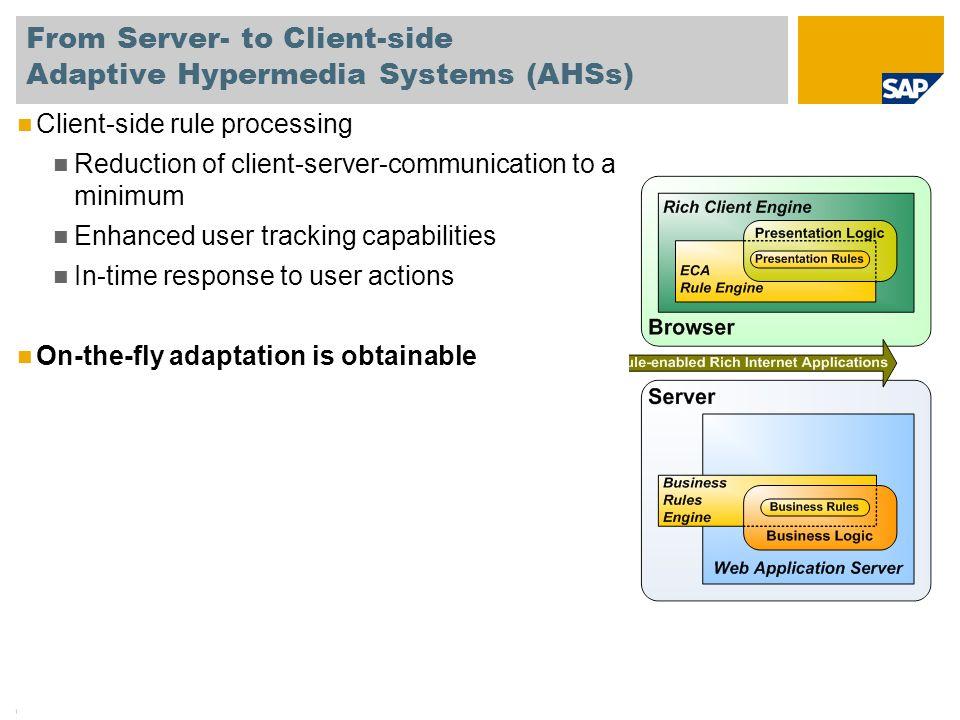 © SAP 2008 / Kay-Uwe Schmidt / Page 16 1.The Evolution of Rule-based Web Applications 2.