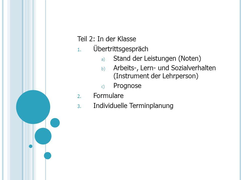 2.Die drei Oberstufentypen: Realschule (F. Baumeler) Sekundarschule (B.