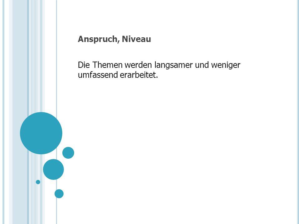 Unterschiedliche Ansprüche Real/Bez.: Zahlenbuch 6