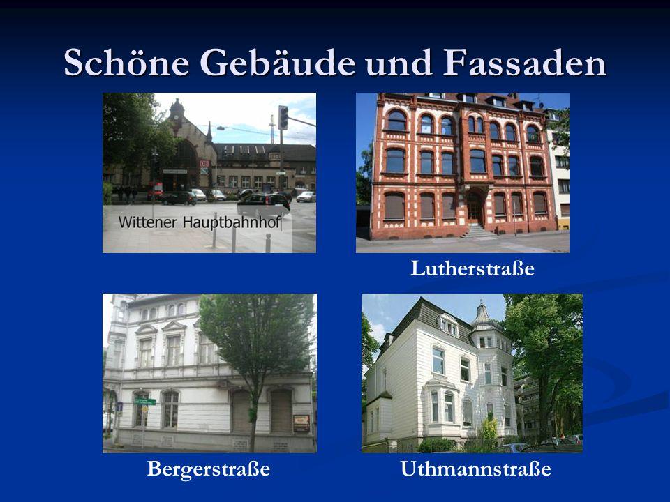 Schöne Gebäude und Fassaden Lutherstraße BergerstraßeUthmannstraße