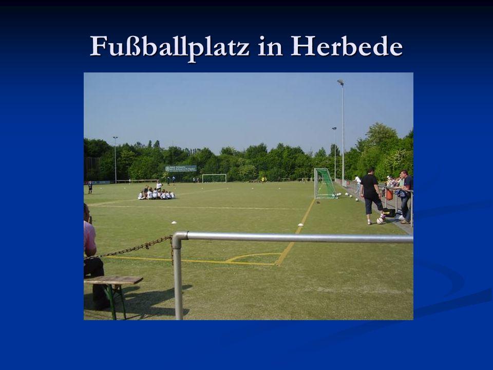 Fußballplatz in Herbede