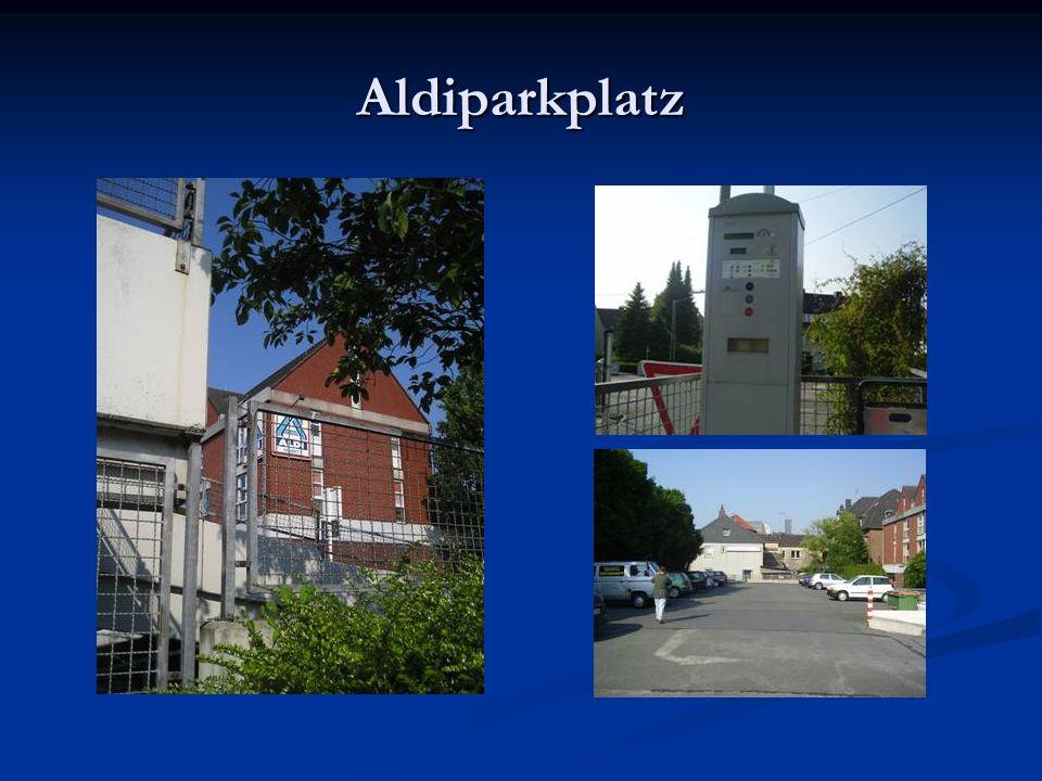Aldiparkplatz