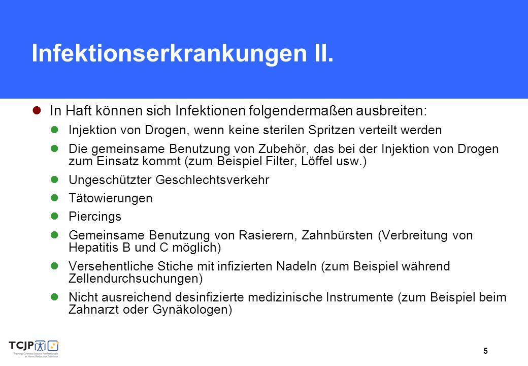 6 Infektionserkrankungen III.