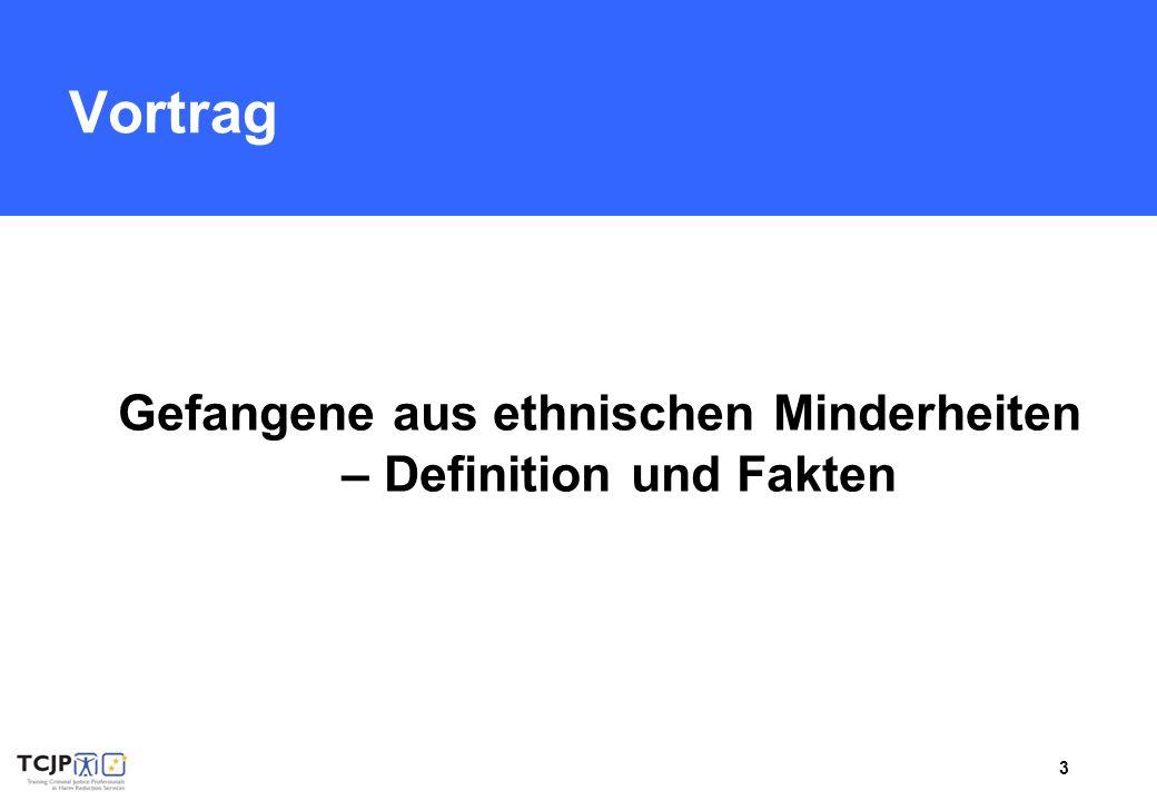 3 Vortrag Gefangene aus ethnischen Minderheiten – Definition und Fakten