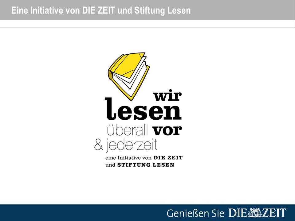 Wir lesen vor – überall & jederzeit Der Hintergrund Lesen ist die wichtigste Schlüsselqualifikation in der Wissensgesellschaft – aber immer weniger Kinder und Jugendliche in Deutschland lesen gut oder gern.