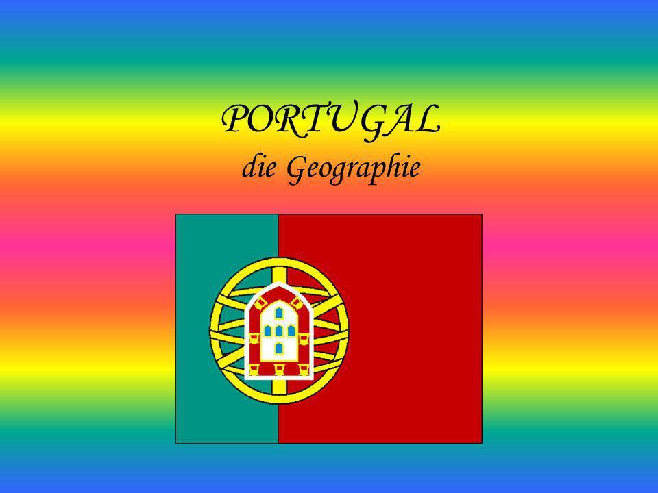 Portugal (República Portuguesa) ist ein europäischer Staat im Südwesten der iberischen Halbinsel.