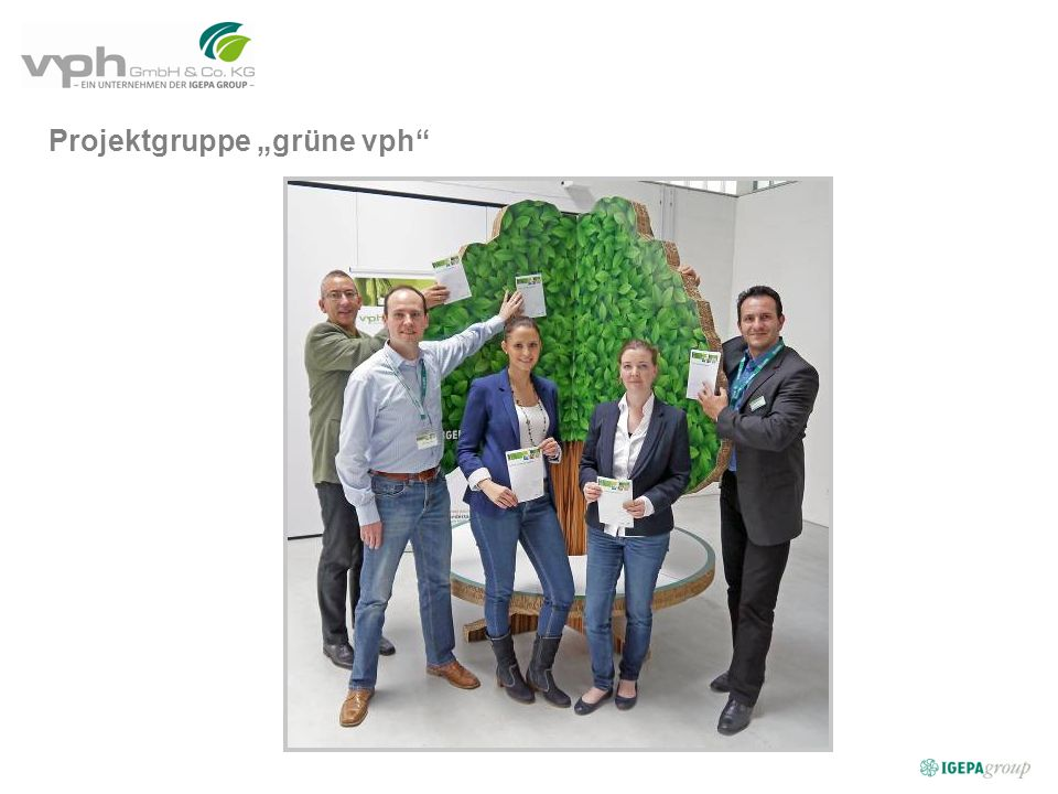 Projektgruppe grüne vph