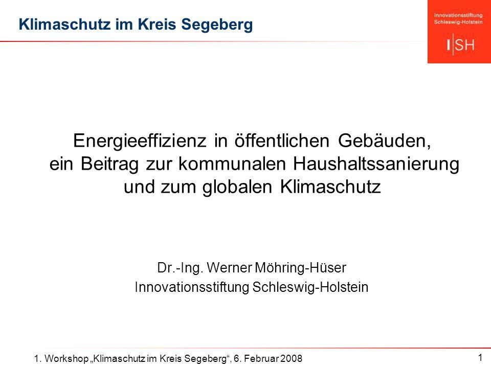 1 1. Workshop Klimaschutz im Kreis Segeberg, 6.