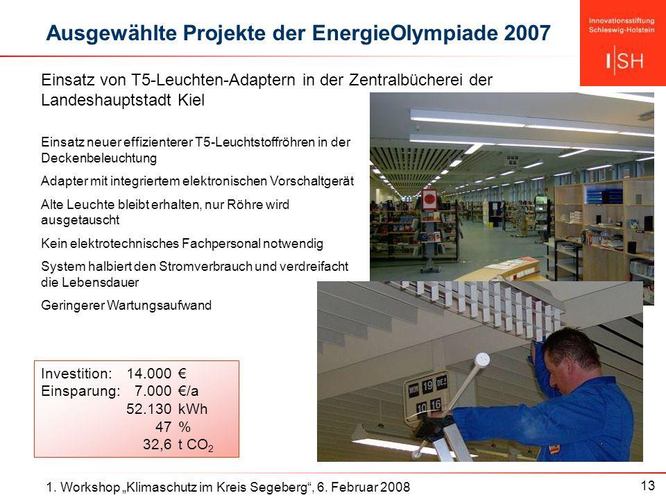 13 1. Workshop Klimaschutz im Kreis Segeberg, 6.