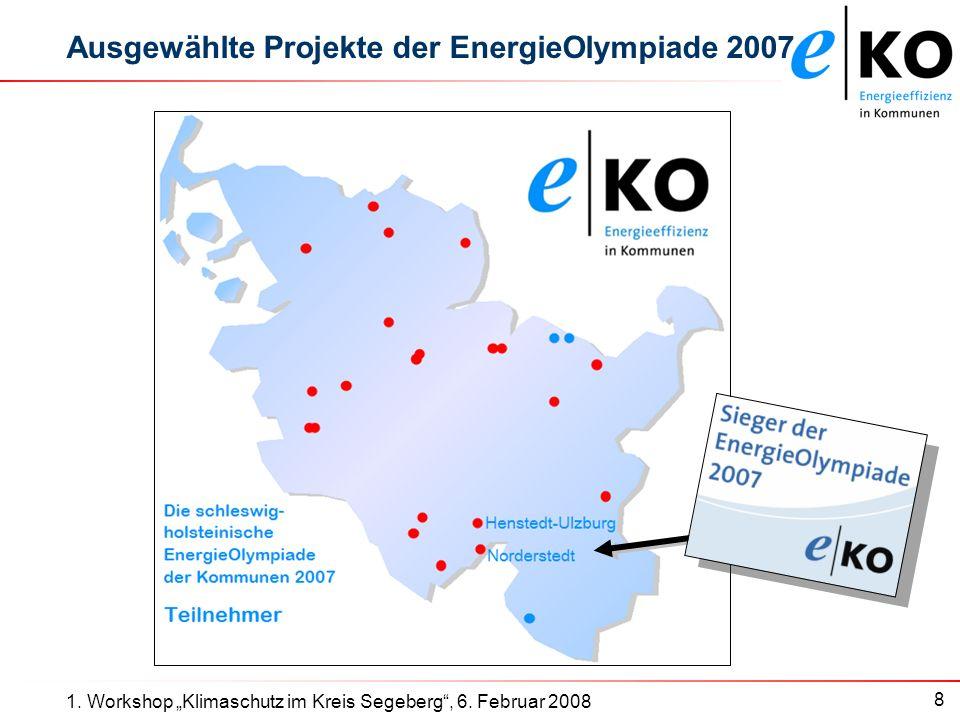 8 1. Workshop Klimaschutz im Kreis Segeberg, 6.