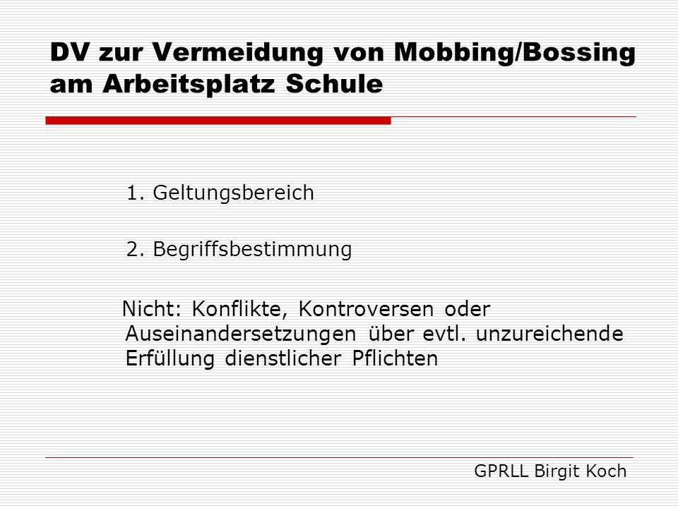 3.Grundsätze § 1 AGG 4.