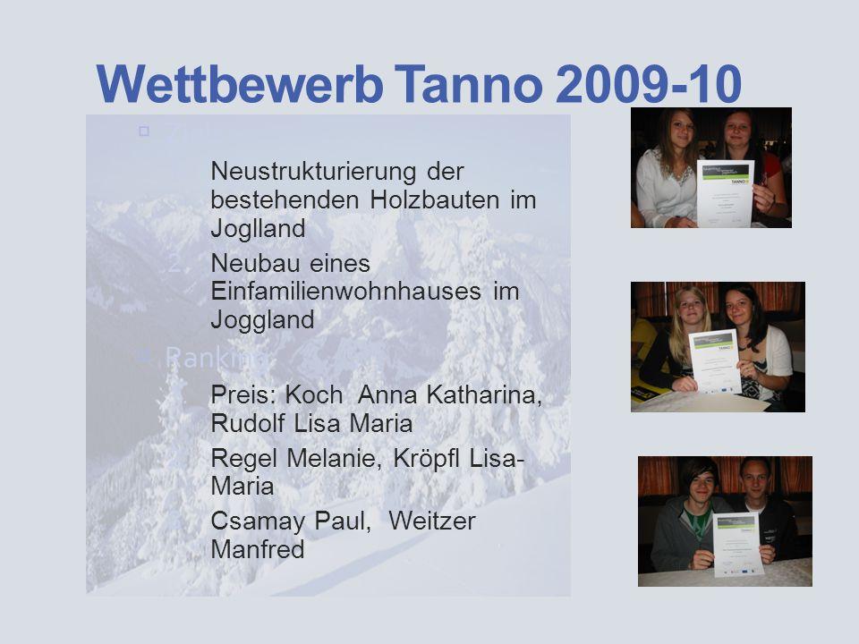 Projekte Eternit Wettbewerb 2009-10