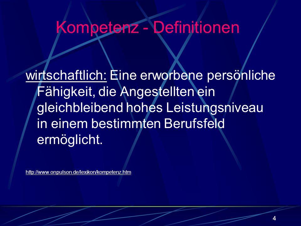 45 Exkurs: Surmise Relations between Tests (Brandt, Albert, Hockemeyer, 1999) Neuester Stand der Wissenschaft: Item oder Itemmenge in Test A, die Person lösen kann Person kann nicht-leere Teilmenge des Test B lösen