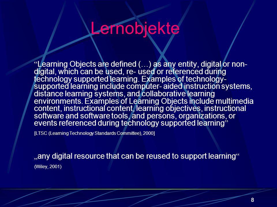 49 Grundkenntnisse Mathematik (,,…) required + taughtrequired + tested Zur Erinnerung:Lernobjekttypen – Beispiel: LO_062 LO_034 LO_027 LO_004 TI_020 TI_002