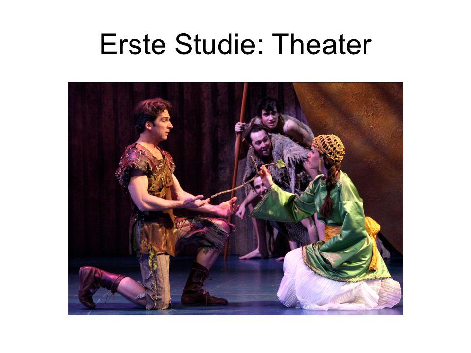 Erste Studie: Theater
