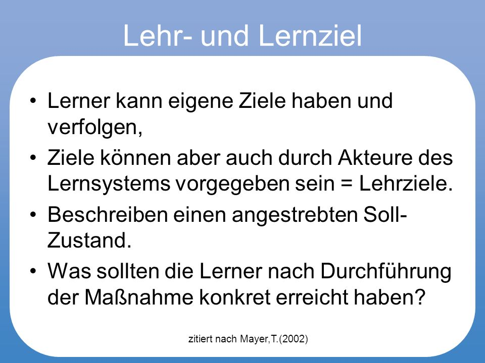 Learner vs.