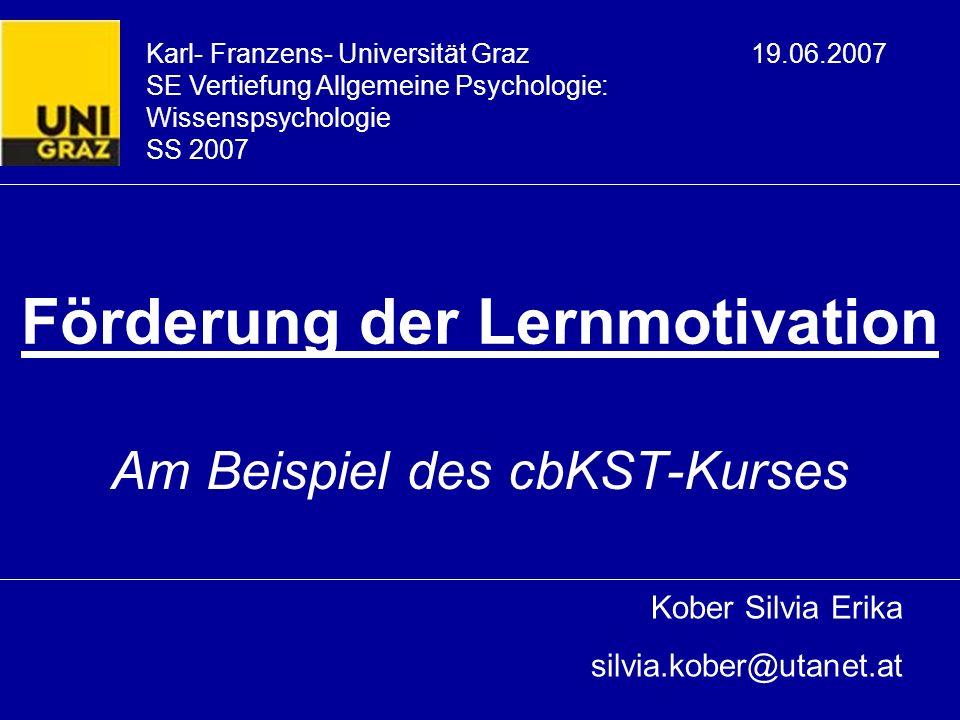 19.06.2007SE Wissenspsychologie32 Literaturverzeichnis Heckhausen, J.