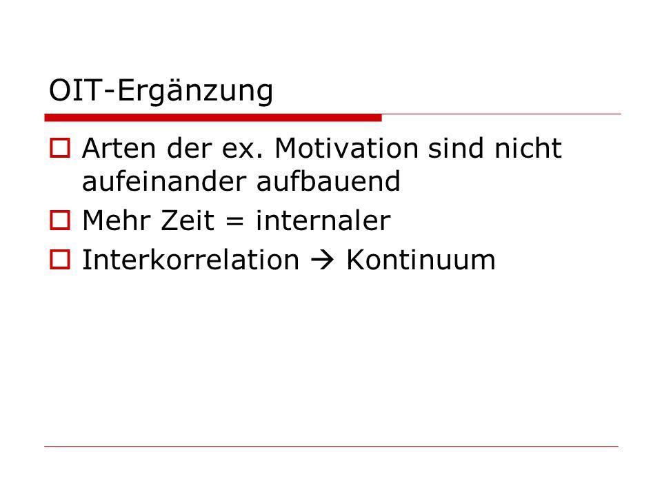 OIT-Ergänzung Arten der ex.