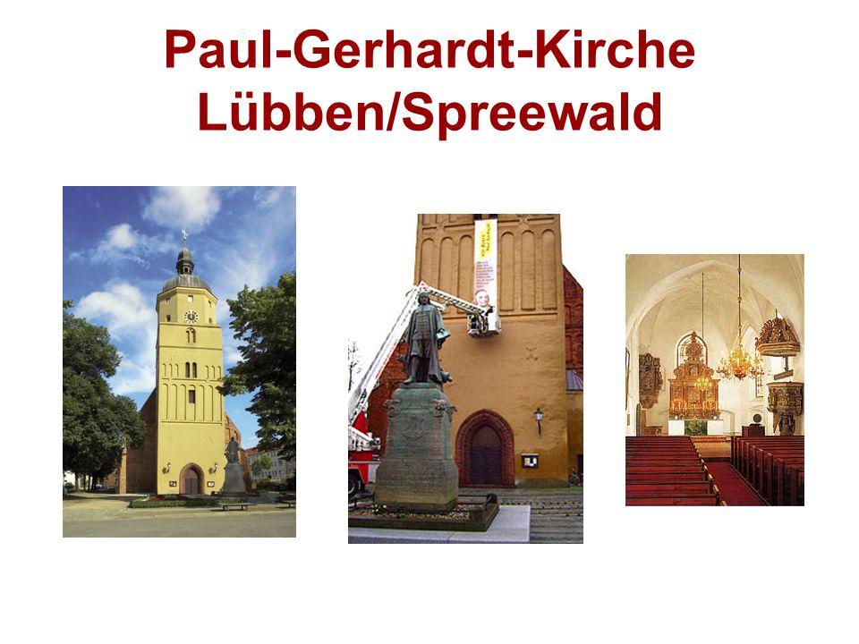 Paul-Gerhardt-Kirche Lübben/Spreewald