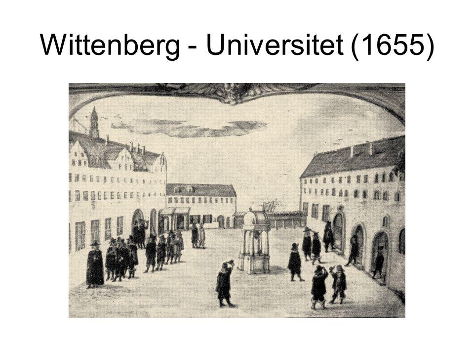 Wittenberg - Universitet (1655)