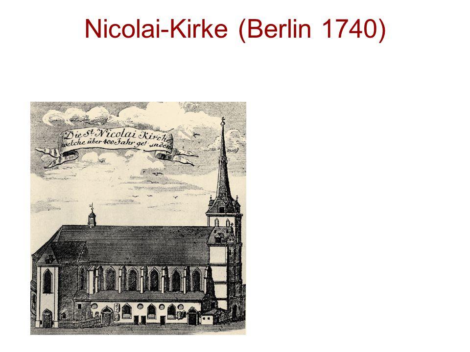 Nicolai-Kirke (Berlin 1740)
