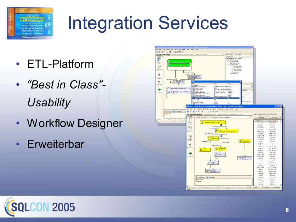 47 SQL Server XML Daten Importer Web Service Zugang Berichte & Auswertungen Bestellungen Warum das Rad neu erfinden.