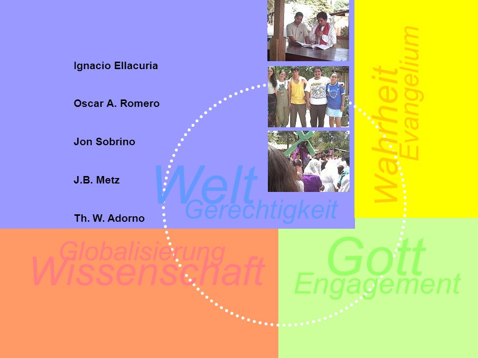 Globalisierung W ahrheit Welt Gerechtigkeit Gott Wissenschaft Engagement Evangelium Ignacio Ellacuria Oscar A.