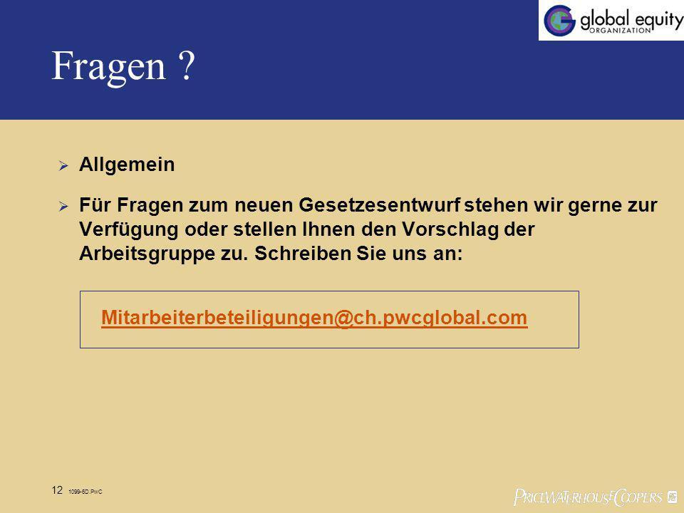 12 1099-6D.PwC Fragen .