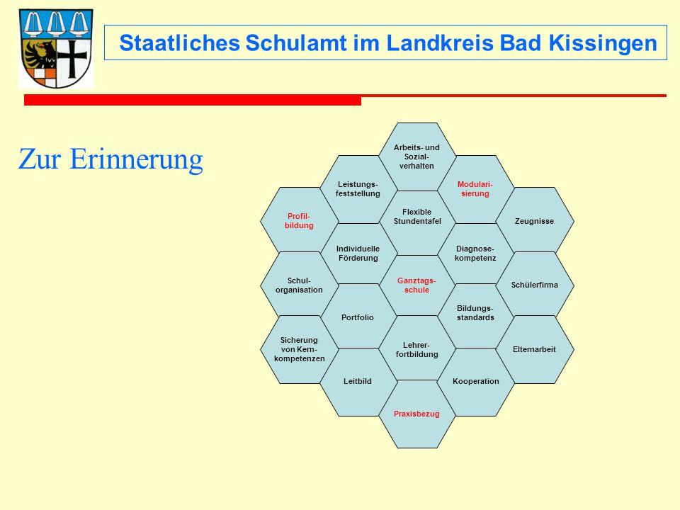Staatliches Schulamt im Landkreis Bad Kissingen Worauf kommt es an.