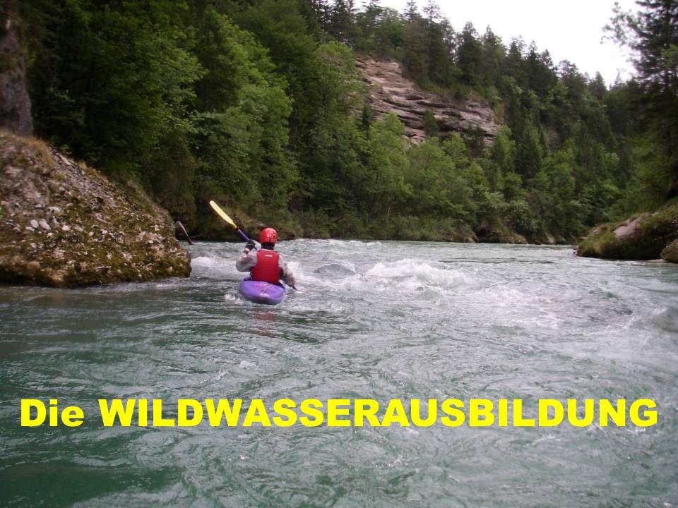 Die WILDWASSERAUSBILDUNG
