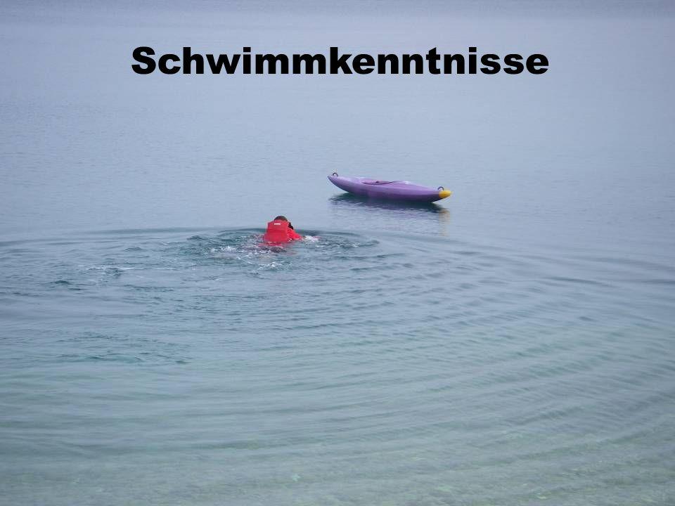 Schwimmkenntnisse