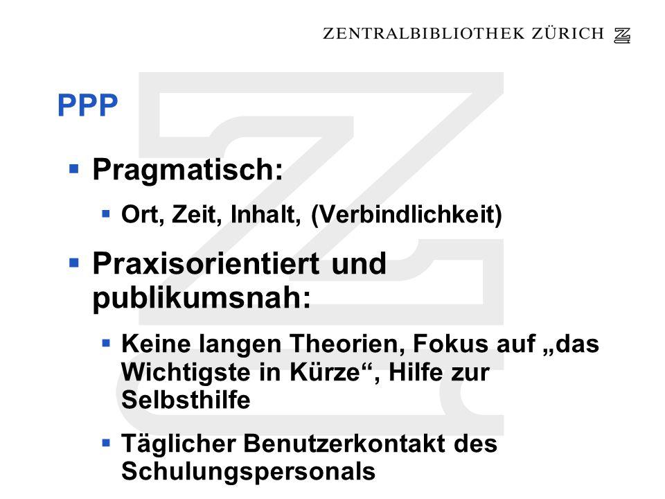 Fachreferat und IK an der ZB Aufbau IK-Angebot durch Abt.