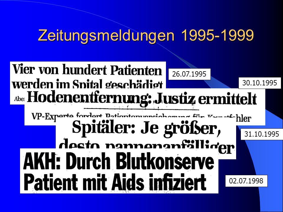 Zeitungsmeldungen 1995-1999 02.07.1998 26.07.1995 31.10.1995 30.10.1995