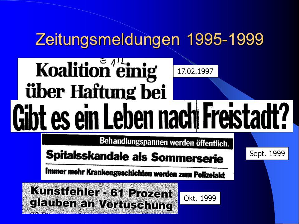 Zeitungsmeldungen 1995-1999 Okt. 1999 17.02.1997 Sept. 1999