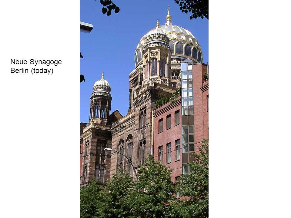 Neue Synagoge Berlin (today)