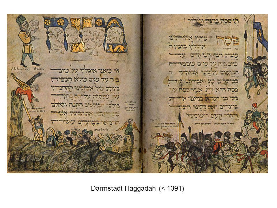 Darmstadt Haggadah (< 1391)