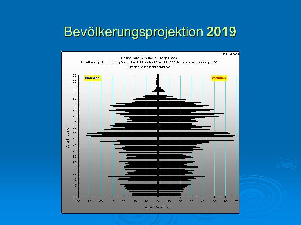 Bevölkerungsprojektion 2019