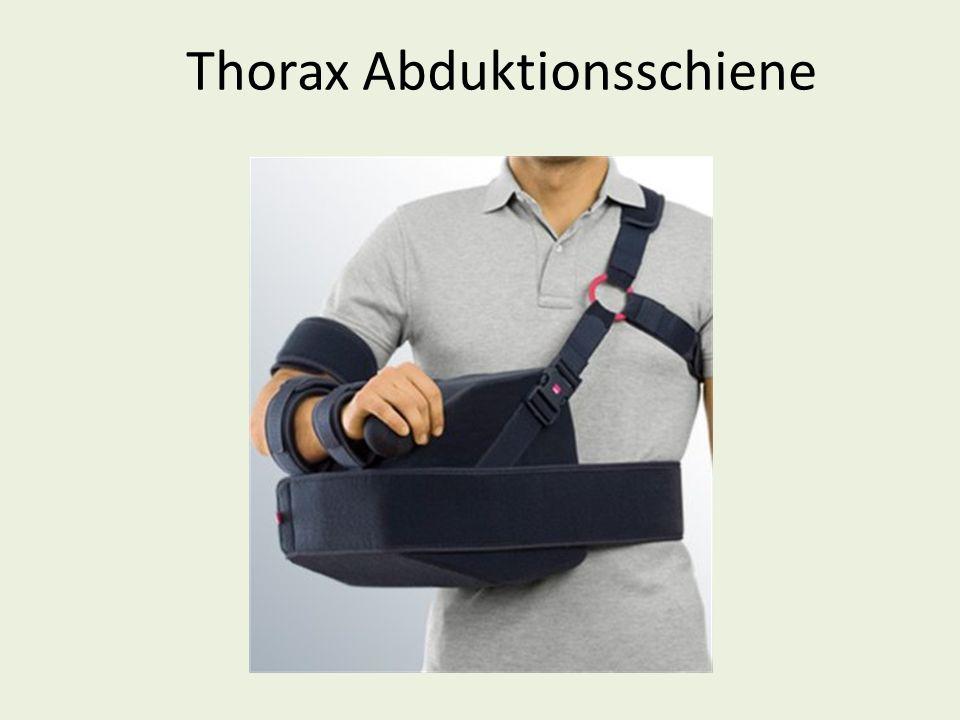 Thorax Abduktionsschiene
