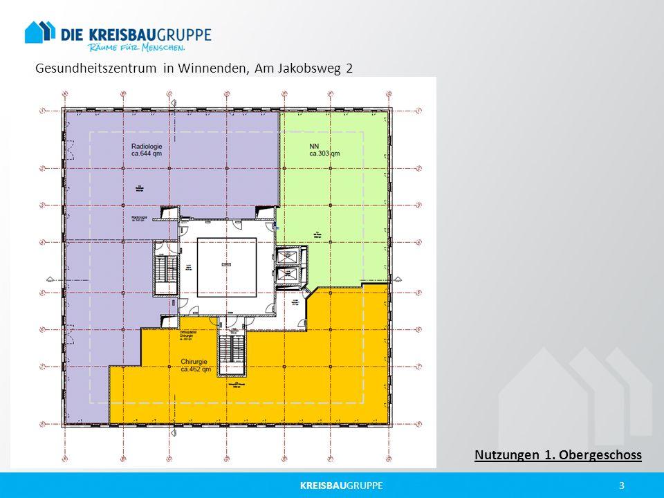 KREISBAUGRUPPE 3 Gesundheitszentrum in Winnenden, Am Jakobsweg 2 Nutzungen 1. Obergeschoss