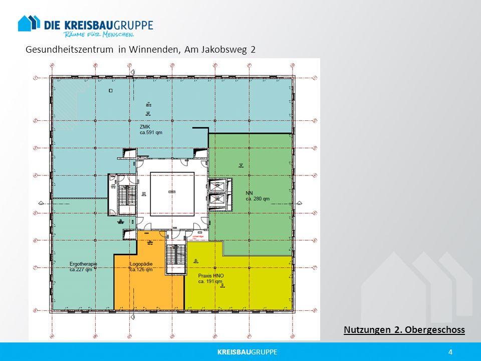 KREISBAUGRUPPE 4 Gesundheitszentrum in Winnenden, Am Jakobsweg 2 Nutzungen 2. Obergeschoss