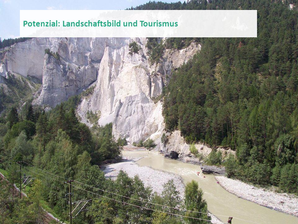 Potenzial: Landschaftsbild und Tourismus