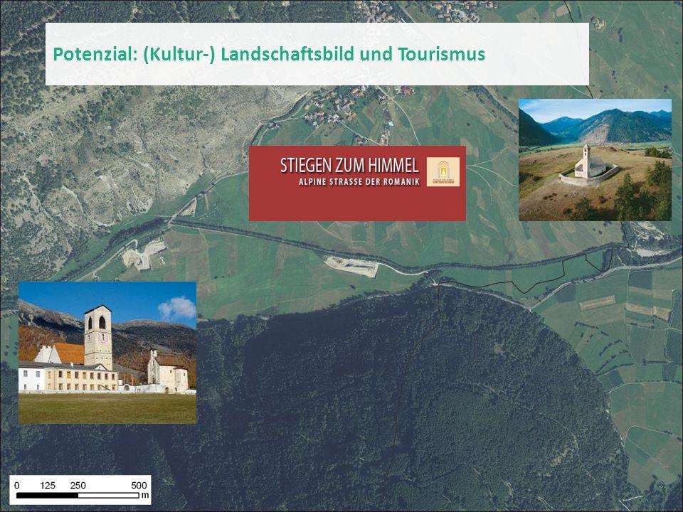Potenzial: (Kultur-) Landschaftsbild und Tourismus