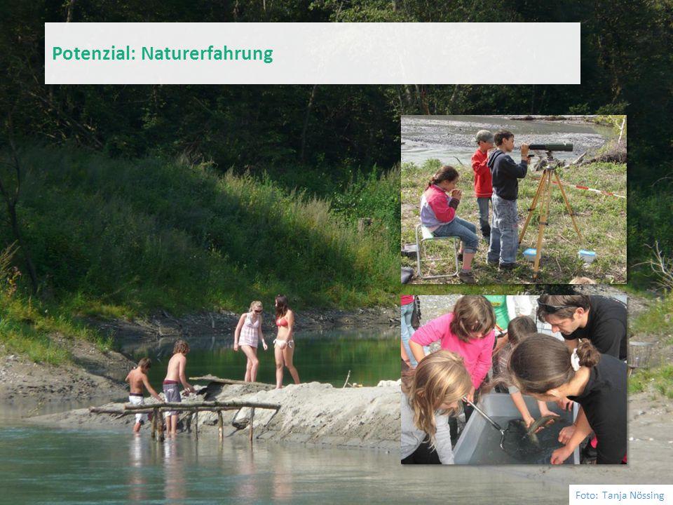 Foto: Tanja Nössing Potenzial: Naturerfahrung