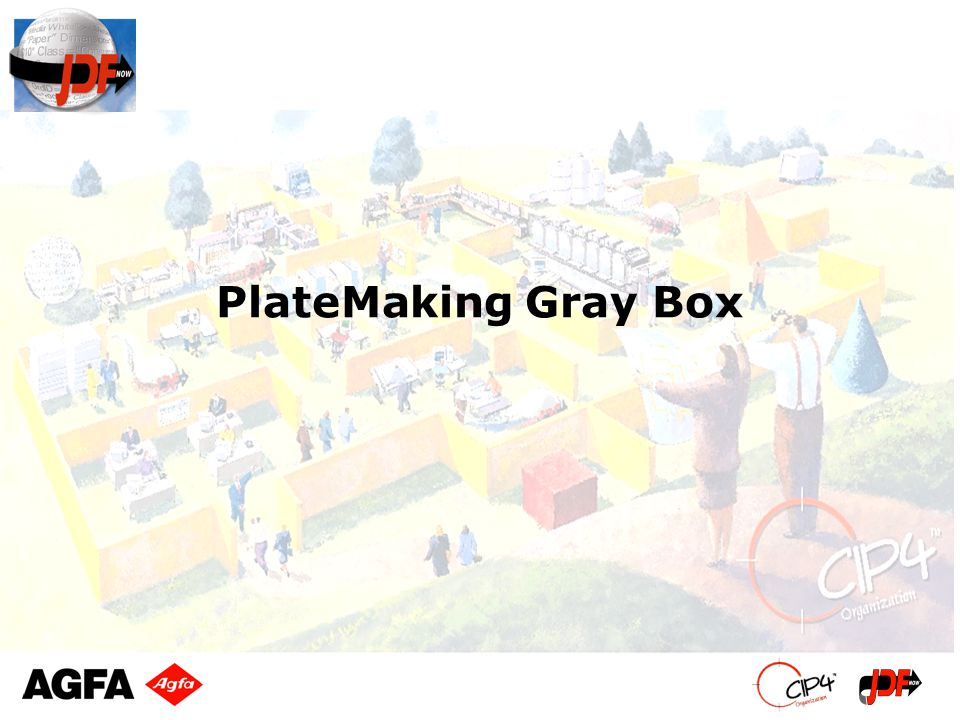 PlateMaking Gray Box
