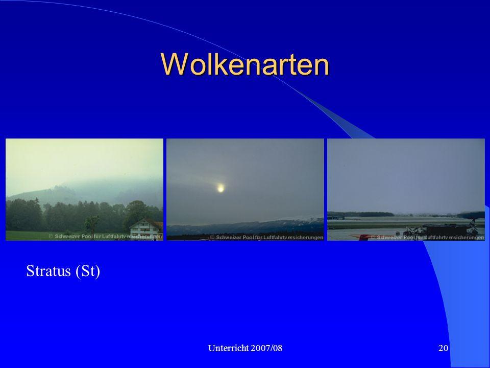 Unterricht 2007/0820 Wolkenarten Stratus (St)