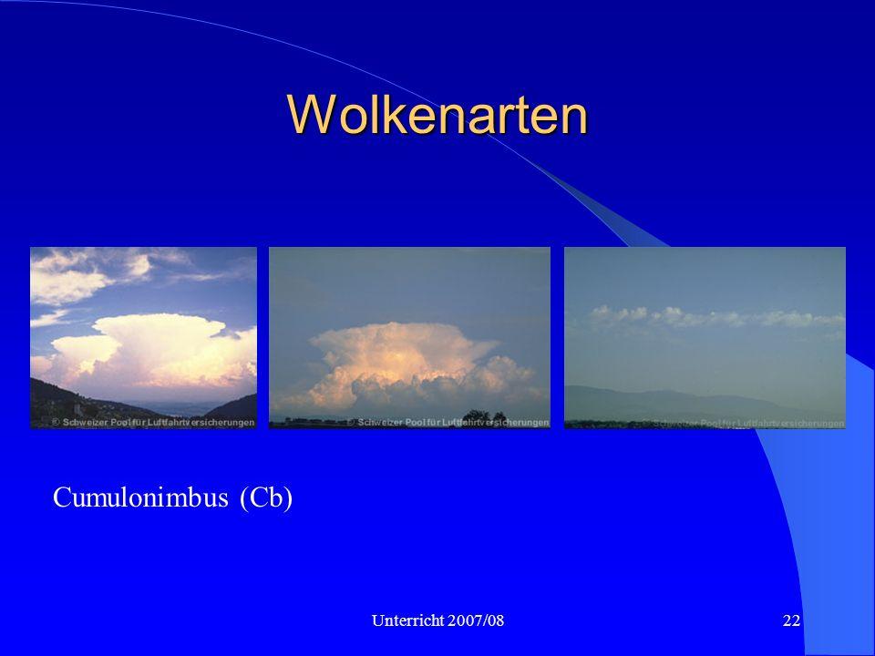 Unterricht 2007/0822 Wolkenarten Cumulonimbus (Cb)