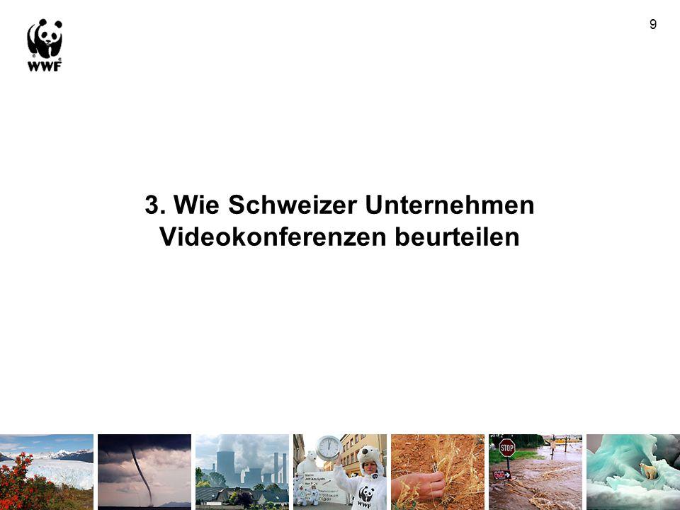 3. Wie Schweizer Unternehmen Videokonferenzen beurteilen 9
