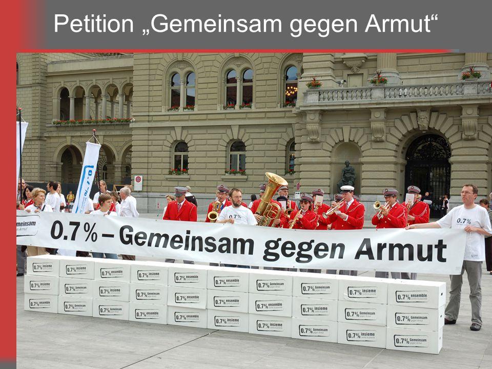 9 Petition Gemeinsam gegen Armut