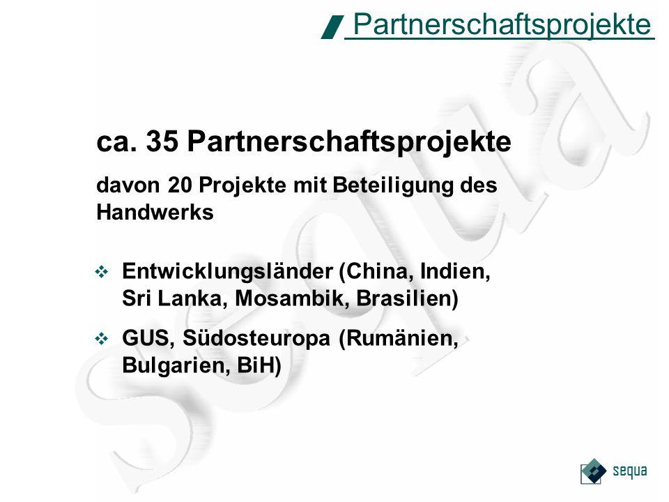 sequa PPP-Programm Public Private Partnership